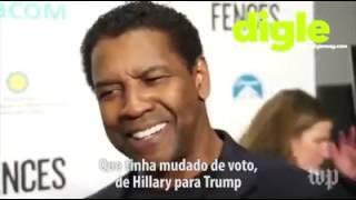 Orgulhosamente Preto - Denzel Washington destrói jornalista em poucos segundos (legendado em portugu