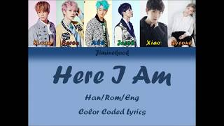 VAV (브이에이브이) - Here I am (겨울잠) [Han|Rom|Eng Color Coded Lyrics]