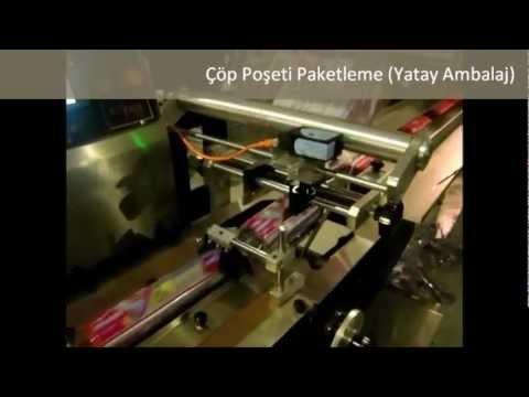 Elitpack Çöp Poşeti Paketleme Makinesi (Yatay Ambalaj).wmv
