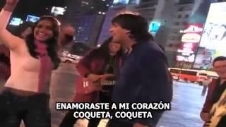 Organizacion x   Coqueta   subtitulos   letra   lyrics