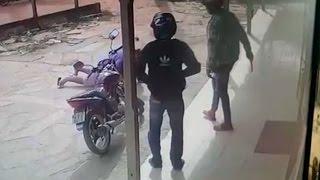 Câmera flagra bandidos assaltando no povoado Açu Velho