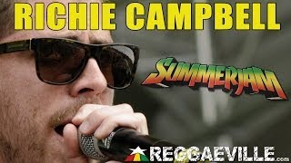 Richie Campbell  @ SummerJam 2014