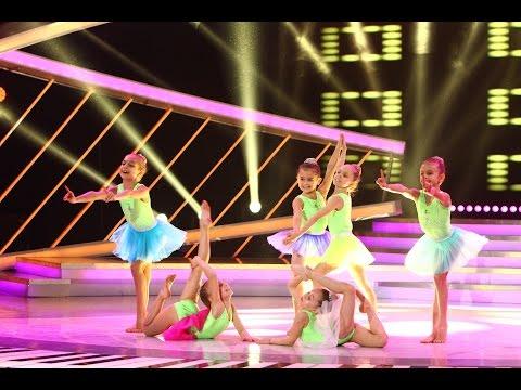 Trupa Unefs, gimnastică ritmică pe scena Next Star
