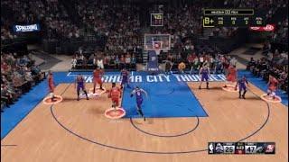 NBA 2k 16 gameplay with imsippingteainyourhood playing over it