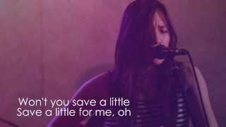 SAVE ROOM - LEE GRANE | JOHN LEGEND COVER | HD Lyric Video
