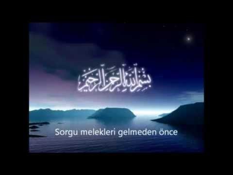 Kabirde Yüzleşme - Mustafa Caymaz (İlahi)