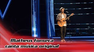 Matheus Fonseca canta música original | The Voice Portugal