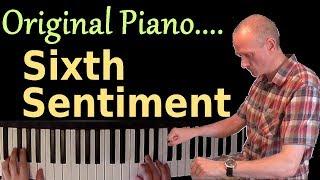 Relaxing piano music: Sixth Sentiment | Original piano music