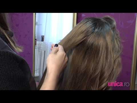 Cum să îţi faci o coadă fishtail