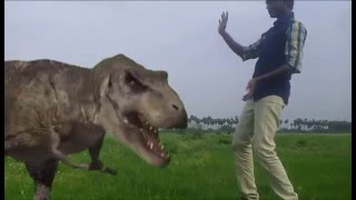 Green Screen  effect Attack with animals