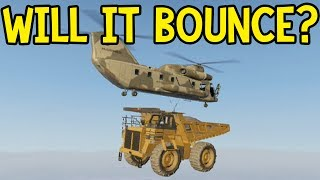 GTA 5 Online - Dump Truck Will it Bounce? (GTA V)