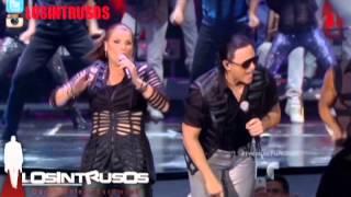 Olga Tañon ft Elvis Crespo en Premios Tu Mundo 2014