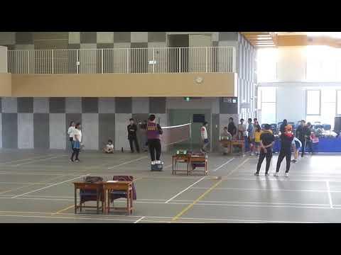 2019教育盃毽球賽-小六女單-[興德]劉云珊vs[銘傳]羅文怡(冠軍賽) - YouTube