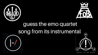 guess the emo quartet song from the instrumental #4