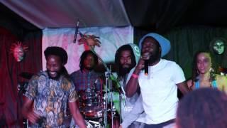 Kabaka Pyramid & Iba Mahr freestyling at Kelissa Live (Skyline Levels)