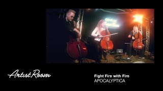 Apocalyptica - Fight Fire with Fire - Genelec Music Channel