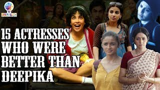15 Actresses who deserved to win at IIFA 2019 | Top 10 | Brainwash