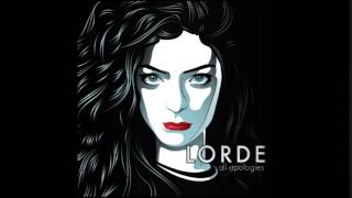 Lorde - All Apologies