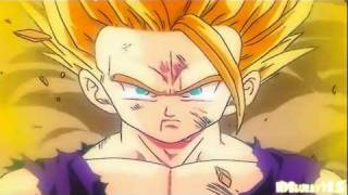 Gohan Transforms into a Super Saiyan 2 (1080p HD)
