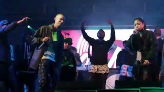 Foreign Beggars ft Skinnyman - Hold on Live at Boom Bap Festival 2015