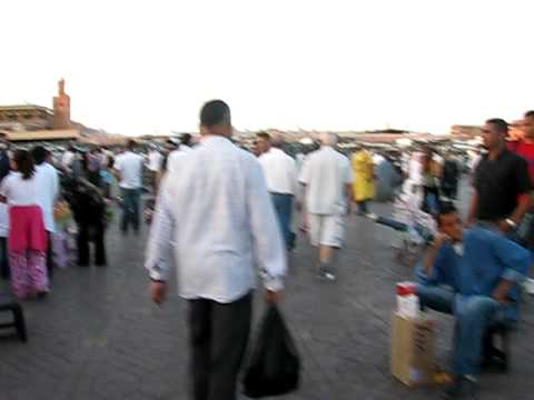jama al-fana sqaure, marrakech, morocco