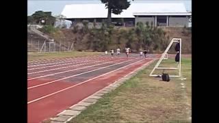 Atletismo 100 metros planos
