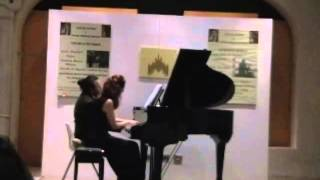 "Fr. Chopin "" Lento "" from Variations on a theme of Moore - VENICE PIANO DUO"