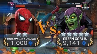 2 Star Spider-man (Stark Enhanced) Vs. 5 Star Green Goblin [MMXIV] The big Bient