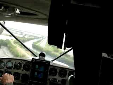 Local flight in Guayaquil Ecuador Maule MT-7