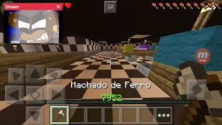 QUERO QUE MORRA NO FOGO!:minecraft pe br