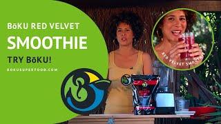 Red Velvet Smoothie Recipe - BōKU Superfood