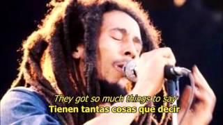 So much things to say - Bob Marley (ESPAÑOL/ENGLISH)