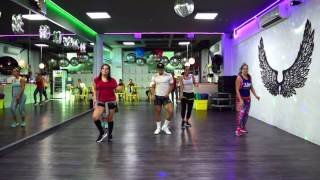 Chillax - Farruko ft Ky Mani Marley by Cesar James / Zumba Cardio Extremo Cancun