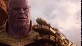 Thanos Hitting Iron Man