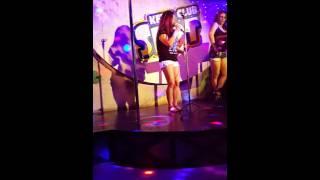 Man down Rihanna karaoke night 😉