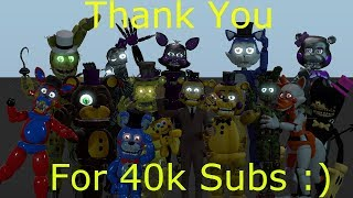 (Fnaf) (SFM) 40k Sub Video + Circus Of The Dead Preview 2
