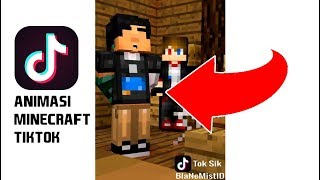 Animasi Minecraft Tik Tok KOCAK!  ft. Anicraft