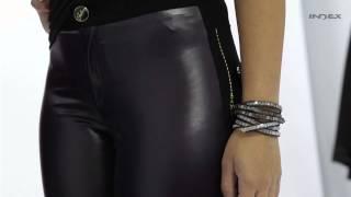 My Closet Index - Look 09 - Calça Legging Metalic