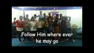 i will follow him dengan lirik