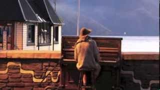 Mathias The Piano man, Queenstown, New Zealand 2014