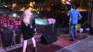 Akcent & Lidia Buble - Kamelia live in Romania