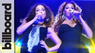 Beyoncé & Alicia Keys 'Put It In A Love Song' Front Row, Live at Madison Square Garden | Billboard