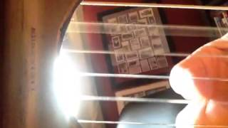 iPhone 4S in guitar