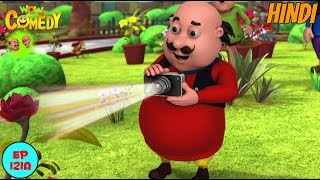 Motu Patlu | Colour Changing Camera | Cartoon in Hindi for Kids | Funny Cartoon Video width=