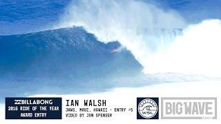 Ian Walsh at Jaws 5 - 2016 Billabong Ride of the Year Entry - WSL Big Wave Awards
