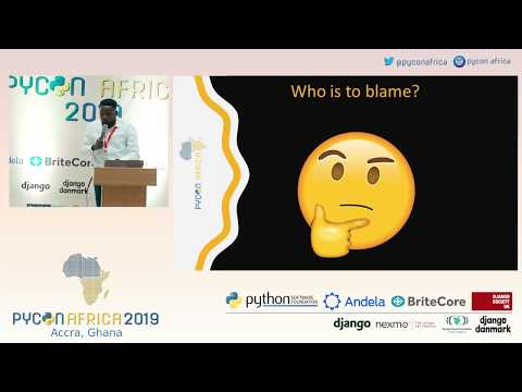 Bridging the talent gap between Python communities and industry - Kelvin Oyanna