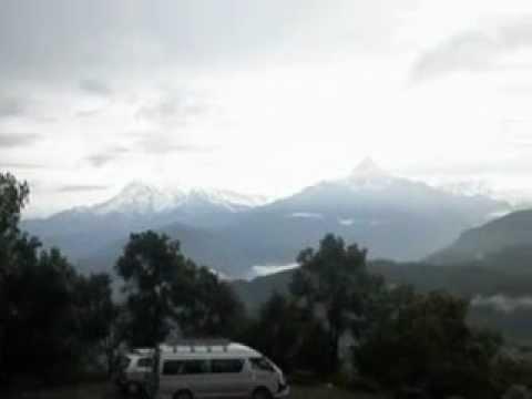 Fishtail Mountain View from Sarangkot