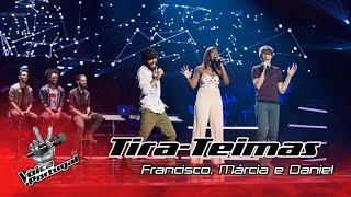 Francisco, Márcia e Daniel – Gravity   Tira-Teimas   The Voice Portugal