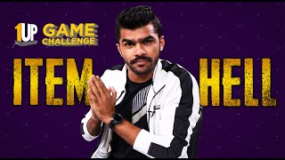 Item Hell Challenge with Shreeman Legend | 1Up Game Challenge | PUBG Mobile