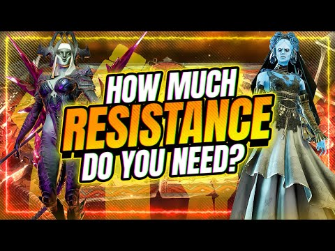 How Much RESISTANCE Do You Need? | RAID Shadow Legends